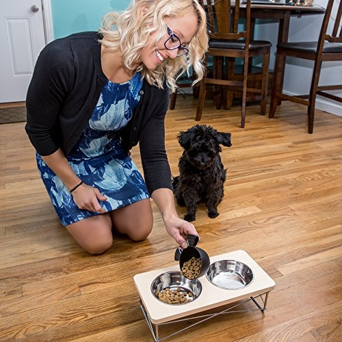 Easyology-Stainless-Steel-Elevated-Feeder-Bowls-for-Cats-and-Small-Dogs-Beige