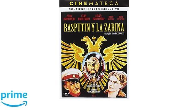 Cinemateca: Rasputin y la Zarina Rasputin and the Empress 1932 DVD: Amazon. es: Ethel Barrymore, Lionel Barrymore, Ralph Morgan, Diana Wynyard John Barrymore ...