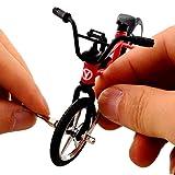 """OWIKAR 4.9"""" Mini Alloy Finger Bikes Functional"""