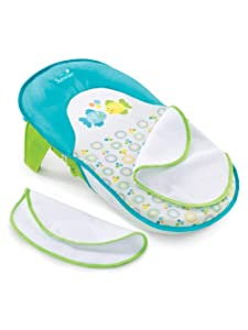 Summer Infant Bath Sling with Warming Wings - White, one Size
