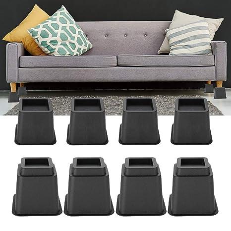 8 piezas de elevadores de muebles, silla ajustable sofá ...