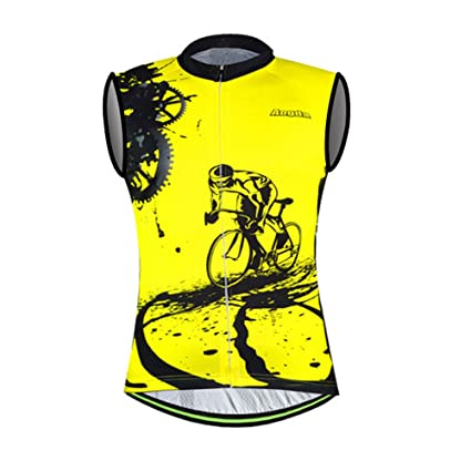 4c2d92b85 Aogda Bike Shirt Biking Jersey Men Sleeveless Cycling Jerseys Team (1  Jerseys