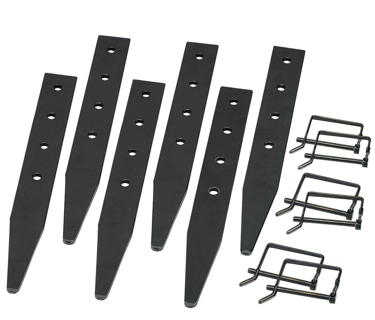 E-Z UP Inc. SHD3QRP4SGCB Shelter Stake Kits, Set of 4