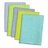 Generic 3pcs Machine Washable, Monogrammable, Everyday Kitchen Basic Dish Cloth 12 x 12''