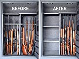 Gun-Storage-Solutions-Pack-of-6-Rifle-Rods-Add-On-Kit