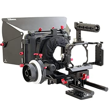 FILMCITY DSLM Kit de jaula para cámara de vídeo para Sony Alpha ...