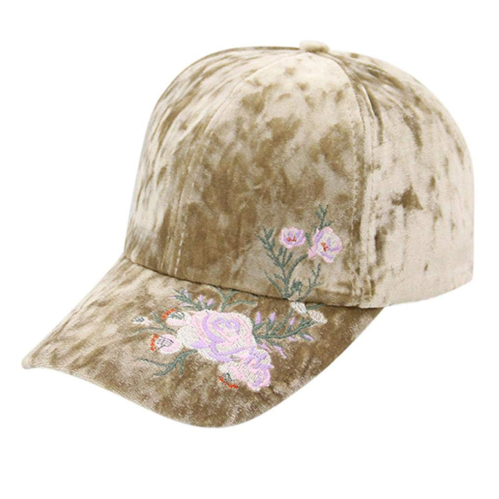 Unisex Vintage Women Lady Man Embroidery Printing Twill Cotton Ponytail  Baseball Hip-hop Cap Vintage Adjustable Dad Hat Ultimate Sandwich Peak Cap  Classic ... 585f57b7c271