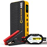 CAR ROVER Car Jump Starter 800A Peak 14000mAh Portable Emergency Battery Charger with Smart Jumper Cables for 6.0L Gas 3.0L Diesel Engine