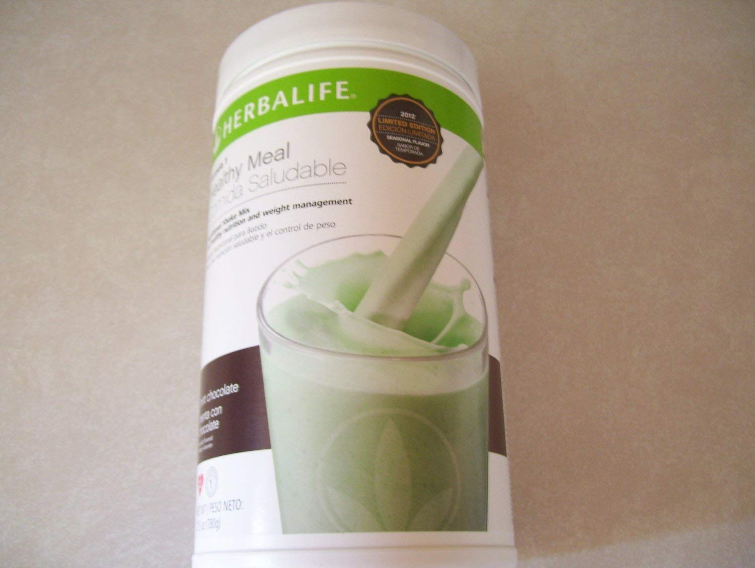 Herbalife Formula1 Healthy Meal Nutritional Shake Mix - Mint Chocolate Chip, 780g/27.5Oz