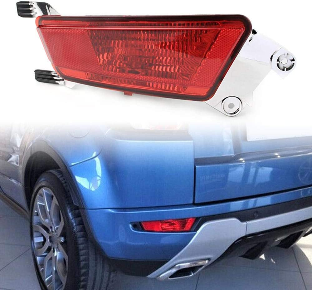 Three T Car Left Side Rear Bumper Fog Lamp Light Fog Lights Assembly Fit for Land Rover Range Rover Evoque 2012-2019