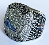 Golden State Warriors 2017 Championship Ring - Steph Curry Replica Great Gift or Collectible