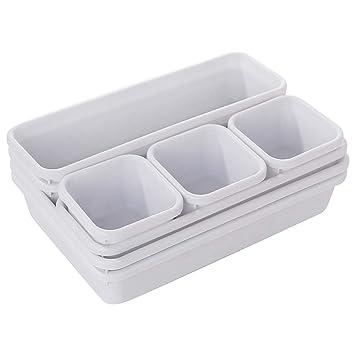 Home//Office Organizer Box Storage Box Closet Desk Box Drawer Tray Cutlery Box NA