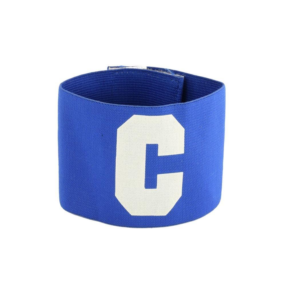 Fascia elastica capitano calcio calcetto sport di squadra blu bianco 256-1 Glooke Selected