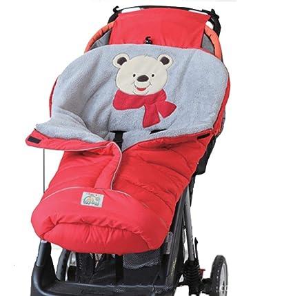 Per Saco de Dormir Invierno para Carrito Bebés Colchonetas Silla de Paseo Universales Saco de Abrigo
