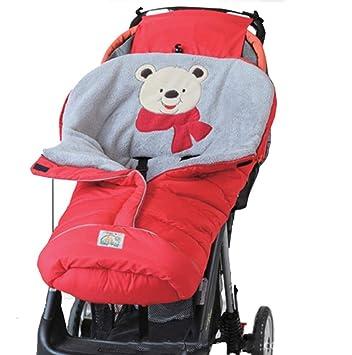 Per Saco de Dormir Invierno para Carrito Bebés Colchonetas Silla de Paseo Universales Saco de Abrigo Infantiles: Amazon.es: Hogar