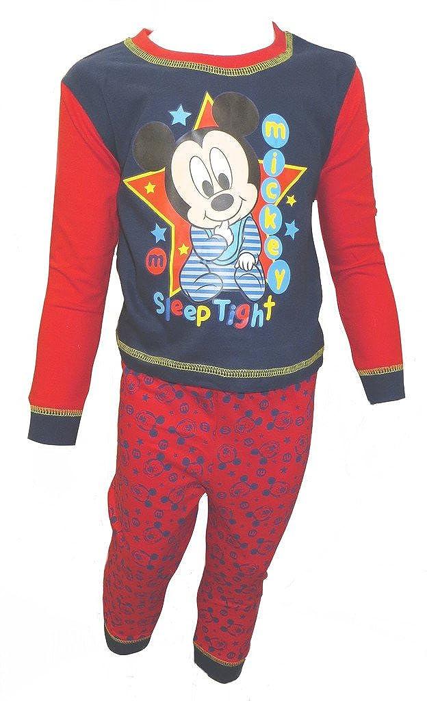 Disney Mickey Mouse Baby Boy's Pyjamas Age 6-24 Months