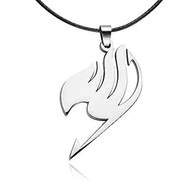 Papapanda Necklace For Fairy Tail Logo Symbol Necklace Manga Anime