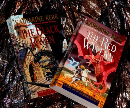 The Dragon Mage Series: 3 Vol set The Red Wyvern; The Black Raven; The Fire Dragon