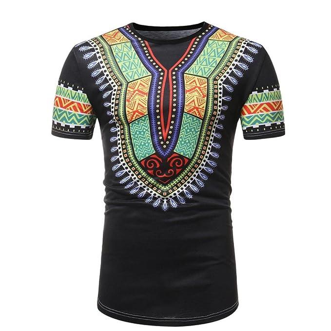 Cinnamou Camiseta Deporte Hombre, Camiseta de Africano Estampada Hombre Camisetas Deporte Ropa Deportiva Camisa de. Pasa ...