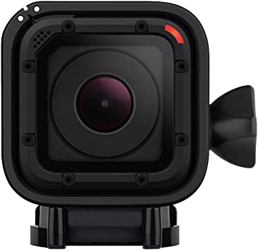 GoPro HERO4 Session - Videocámara Deportiva (12 MP, Wi-Fi, Bluetooth, Sumergible hasta 40 m), (versión Inglesa/Francesa)