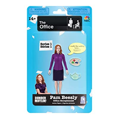 The Office Series 1 Pam Beesly Action Figure: Toys & Games