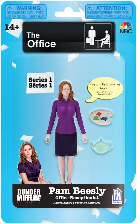 The Office Series 1 Pam Beesly Action Figure