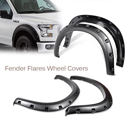 Universal JDM Fender Flares 2inch Rising Tuning 50mm 4pcs Wheel Arch Overfender Wide Body zg style
