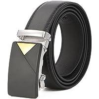 Oyfel Cinturon Automatica Automatico Hombre Negro 120cm PU