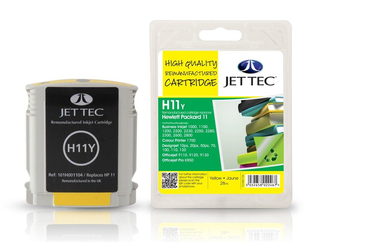 Cartucho de Tinta Compatible Jet Tec para HP HP11 / C4838A ...