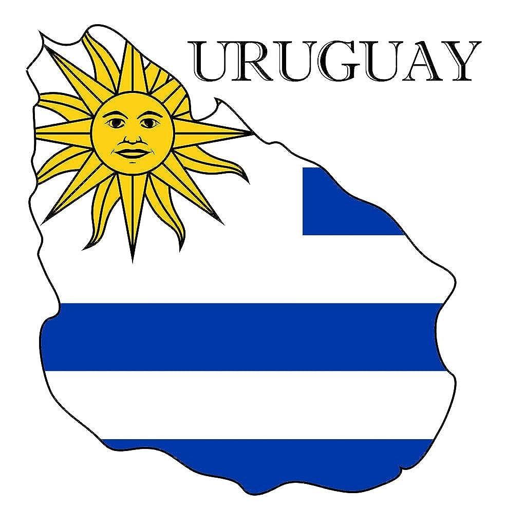 Uruguay Country Flag Printed Shortsleeve Tee