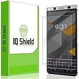 Blackberry KEYone Screen Protector, IQ Shield LiQuidSkin Full Coverage Screen Protector for Blackberry KEYone HD Clear Anti-Bubble Film