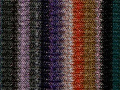 (Black/Pink/ Grey/Orange (376)) - Noro Silk Garden, 376 - Black-Greys-Teal-Lilac-Nut-Carrot B00D7NGVBY