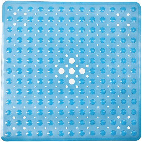 Shower Mat Non Slip | Non-Toxic (BPA-Free) & Anti-Bacterial | Bath Tub Mat with Original GripTight (TM) Technology & Powerful Suction Cups | 21