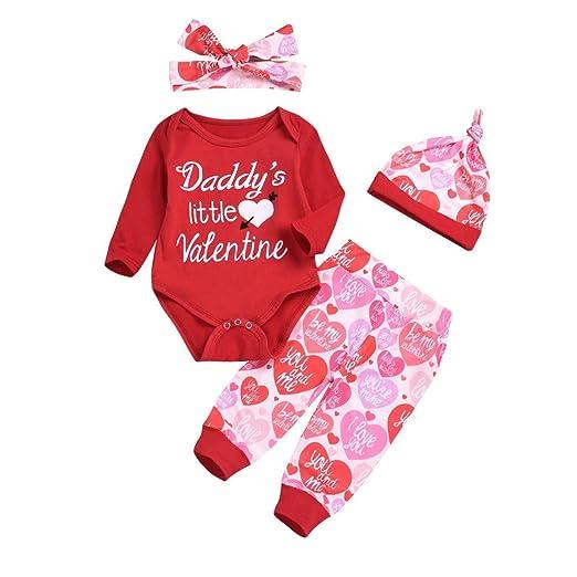 a480d2bbf Amazon.com  Valentine s Day Newborn Baby Girl Boy Clothes Mama is My ...