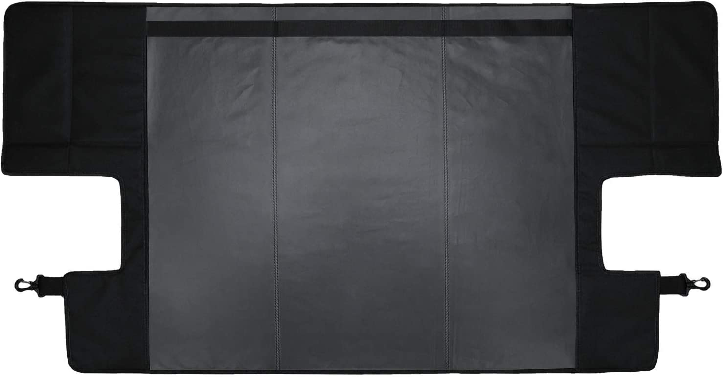 Bosmutus Cargo Cover Pro by Reversible for Top ON//Topless J-eep JK TJ JL YJ JKU Sports//Sahara//Freedom//Rubicon 2 Door//4 Door Unlimited 1985-2018 Models