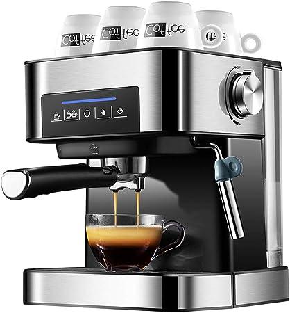 NQN Cafetera máquina de café semiautomática Vapor Leche ...