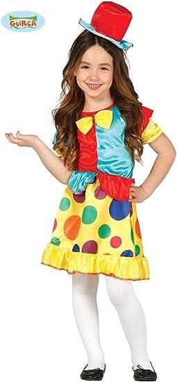 Disfraz de Payasita Graciosa para niña: Amazon.es: Juguetes y juegos