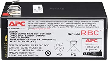 Compatible Battery Replacement Upgrade APC Back-UPS LS 500 BP500UC 12V 8Ah by UPSBatteryCenter