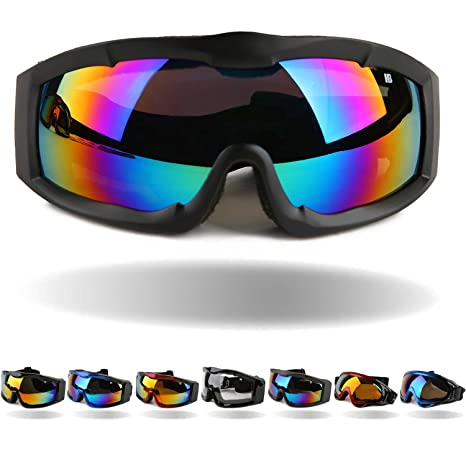 6661d23c4bb2 Orgrim Tactical Windproof Cycling Googles Uv400 Motorcycle Ski Snowboard Goggles  Eyewear Sports Protective Safety Glasses with