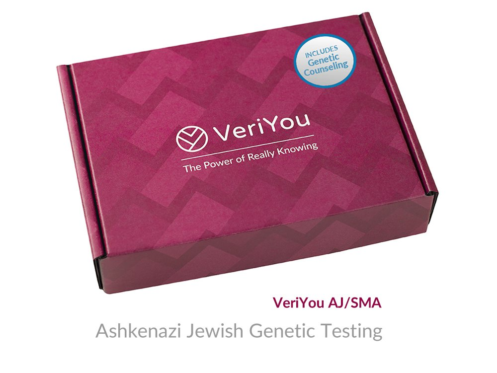 VeriYou Pre-Pregnancy Test: Ashkenazi Jewish Genetic Test - Includes Genetic Counseling