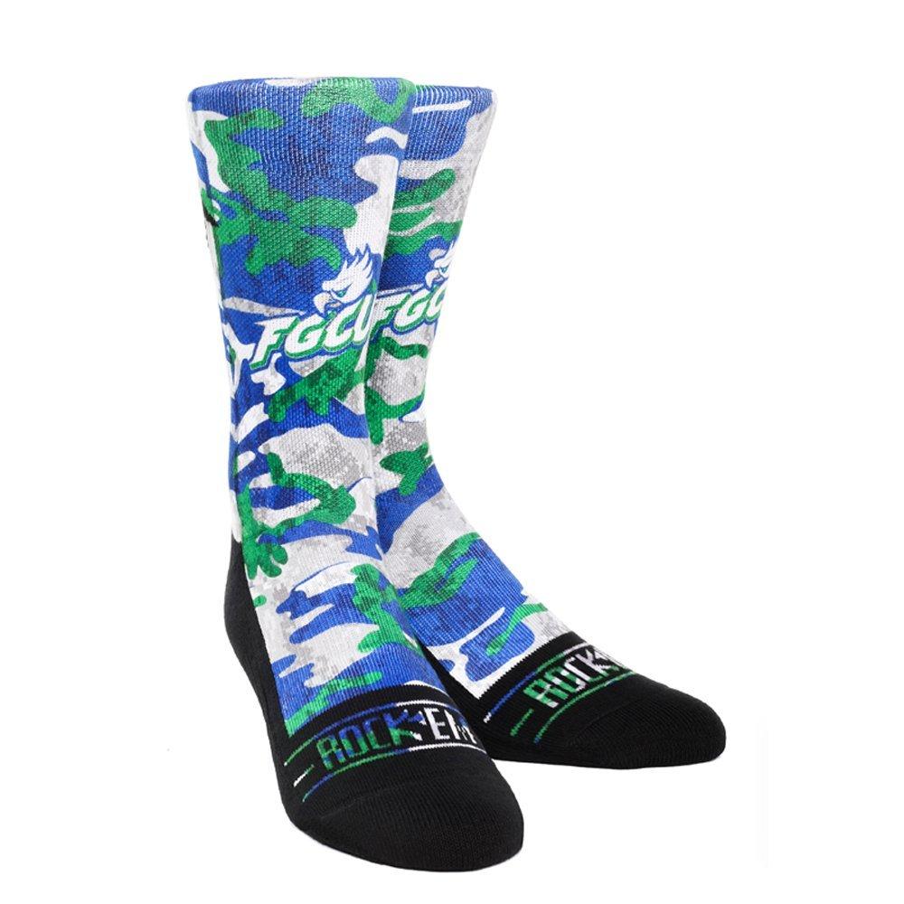 Rockem Apparel NCAA Florida Gulf Coast University Eagles Jersey Series Socks