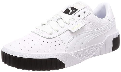 Blanco 5 Cali Eu Wn's Puma Para Black Zapatillas 42 White Mujer XfWqz