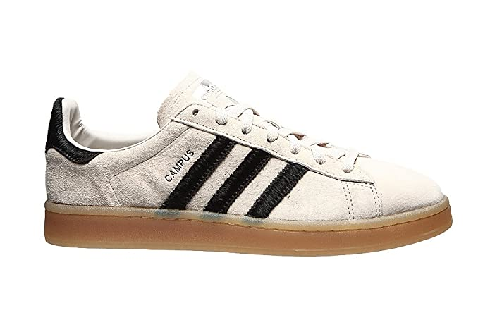 Adidas Campus Schuhe Herren weiß mit schwarzen Streifen
