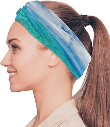 Amazon Com Australia Great Barrier Reef Coral Elastic Headbands