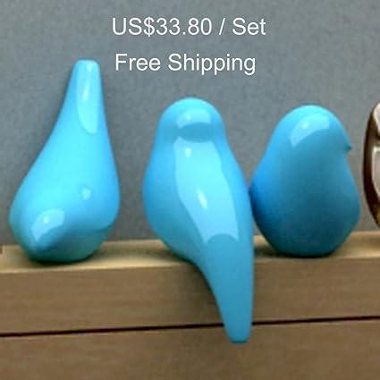 Amazon Com Creative 3d Artificial Little Birds Handicrafts Arts
