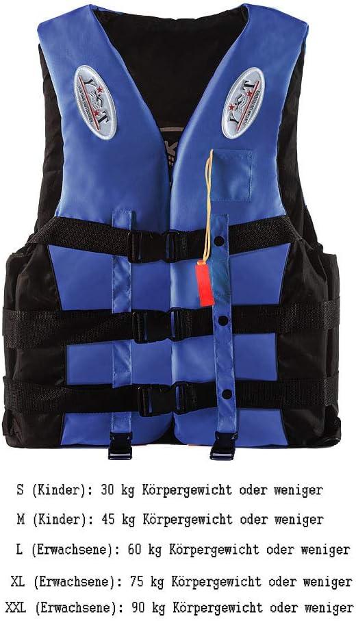 Rettungsweste Schwimmweste ISO Schwimmhilfe Kinder /& Erwachsene S//M//L//XL//XXL