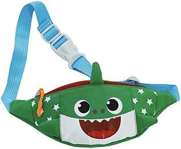 Children Kid Waist Packs Cartoon Animal Shark Fanny Bag Chest Bag For Boy Girl W