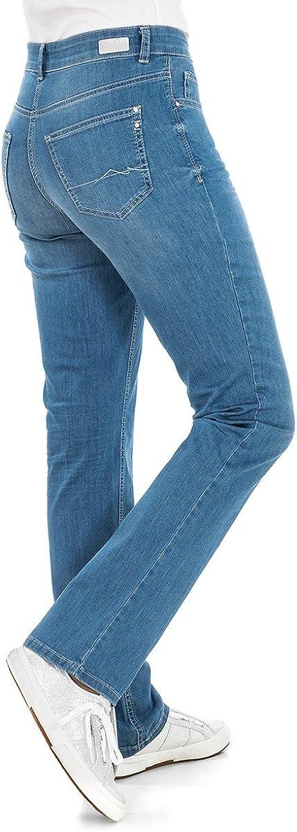 MAC MELANIE light blue wash Damen Stretch Jeans 5040-97-0380L D449