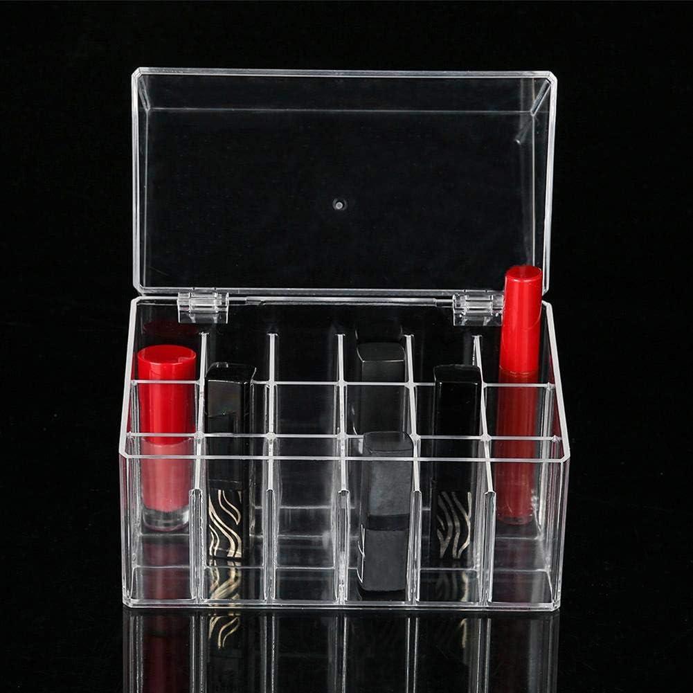 /étui pour tiroir /à organiseur et petit article 18 grilles Bo/îte de rangement pour rouge /à l/èvres 18//26 Grids