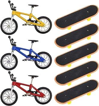 BESPORTBLE Mini Patinetas de Dedo Y Bicicletas Set Juguetes de ...